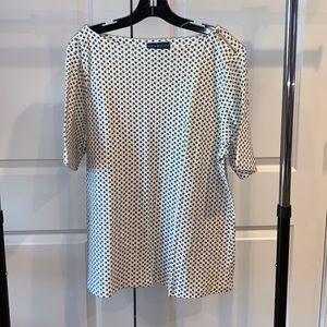 Karen Scott Short Sleeve Polka Dot Shirt NWOT
